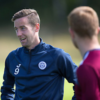 St Johnstone Training...07.08.15<br /> Steven MacLean pictured in training this morning ahead of tomorrow's game against Inverness<br /> Picture by Graeme Hart.<br /> Copyright Perthshire Picture Agency<br /> Tel: 01738 623350  Mobile: 07990 594431