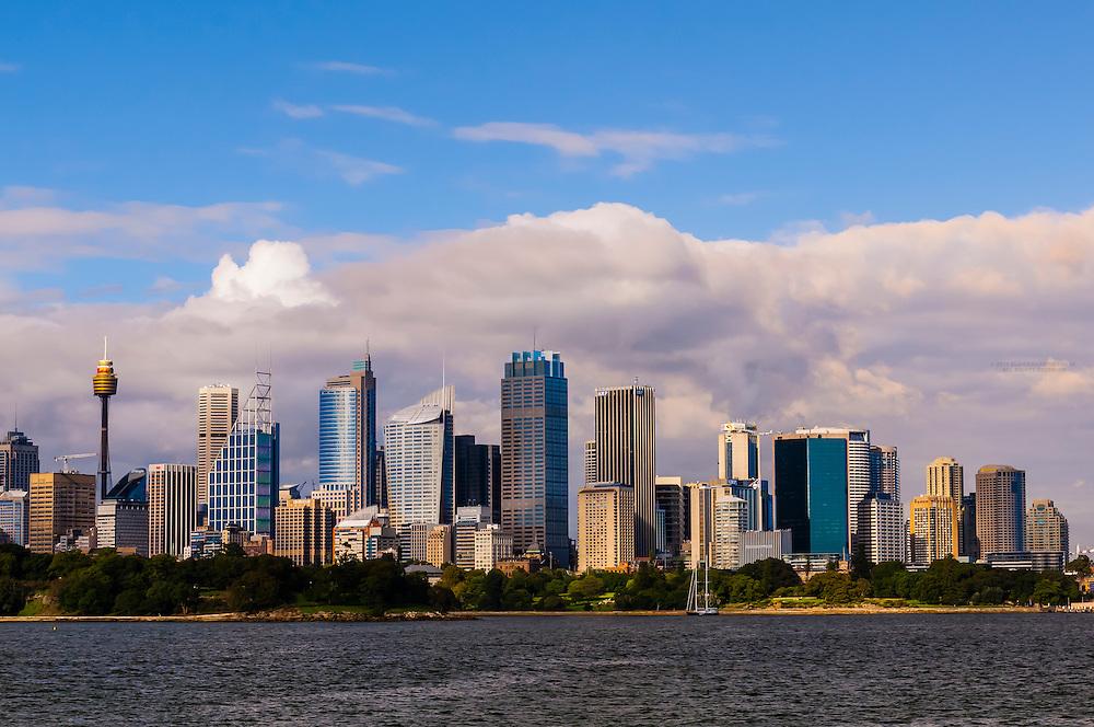 Skyline, Central Business District, Sydney, New South Wales, Australia
