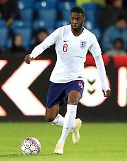 Denmark U21 v England U21 - 20 Nov 2018