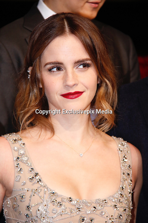 SHANGHAI, CHINA - FEBRUARY 27: <br /> <br /> British actress Emma Watson attends the premiere of American director Bill Condon\'s film \&quot;Beauty and the Beast&quot; at Walt Disney Theatre on February 27, 2017 in Shanghai, China. <br /> &copy;Exclusivepix Media