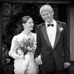 Black & White Wedding Images