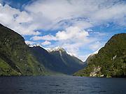 View of Doubtful Sound, Fiordland National Park, New Zealand; 22 Sept 2012
