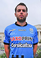 Samuel BOUHOURS - 04.10.2013 - Photo Officielle - Tours -<br /> Photo : Philippe LE BRECH / Icon Sport