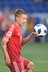 May 26, 2018 - Harrison, New Jersey, U.S - New York Red Bulls midfielder MARK RZATKOWSKI (90) is seen prior to the match at Red Bull Arena in Harrison New Jersey New York draws with Philadelphia 0 to 0 (Credit Image: © Brooks Von Arx via ZUMA Wire)