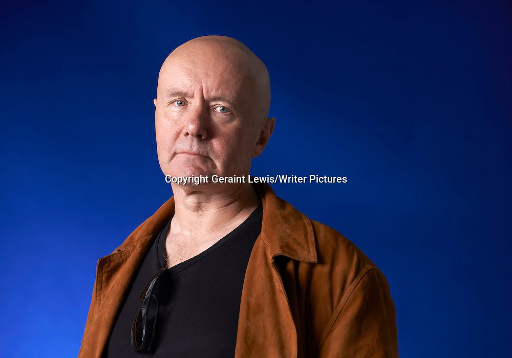 Irvine Welsh, author and writer at The Edinburgh International Book Festival  2012. Taken 18th August 2012<br /> <br /> Credit Geraint Lewis/Writer Pictures