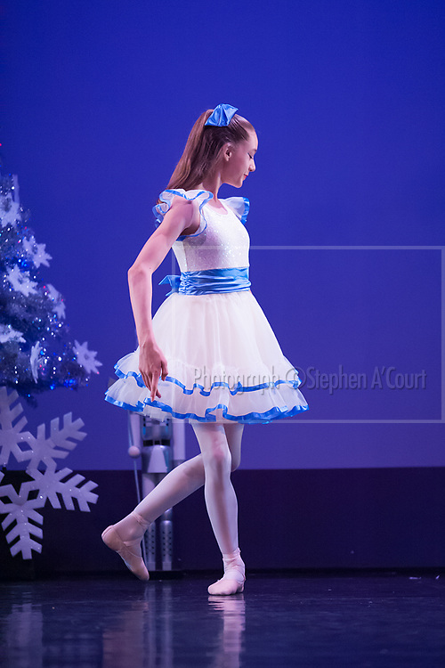 Wellington, NZ. 6.12.2015.  Clara, from the Wellington Dance & Performing Arts Academy end of year stage-show 2015. Little Show, Sunday 12.45pm. Photo credit: Stephen A'Court.  COPYRIGHT ©Stephen A'Court