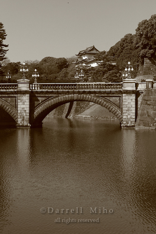 Mar 4, 2006; Tokyo, JPN; Imperial Palace.Bridge in front of the Imperial Palace...Photo credit: Darrell Miho