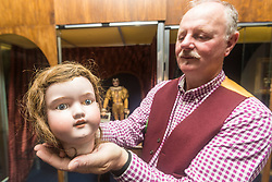 Edinburgh's Museum of Childhood is hosting an exhibition &quot;It's Alive! Mechanical Marvels from the House of Automata&quot; between 22 June and 18 September. <br /> <br /> The forty items on display come from the collection of Michael and Maria Start. Michael, automata historian and horologist, and Maria, sculptor and artist, are together known as the House of Autmata.<br /> <br /> Pictured: