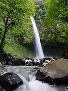 The very beautiful La Fortuna Waterfall, near La Fortuna, Alajuela, Costa Rica.