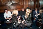 LISA BELLEN; KIMMIE HAMERSTROEM, Tatler Little Black book party. Tramps. 3 November 2010. -DO NOT ARCHIVE-© Copyright Photograph by Dafydd Jones. 248 Clapham Rd. London SW9 0PZ. Tel 0207 820 0771. www.dafjones.com.