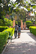 Koutoubia Park, Marrakesh, Morocco, 2016-04-20. <br />