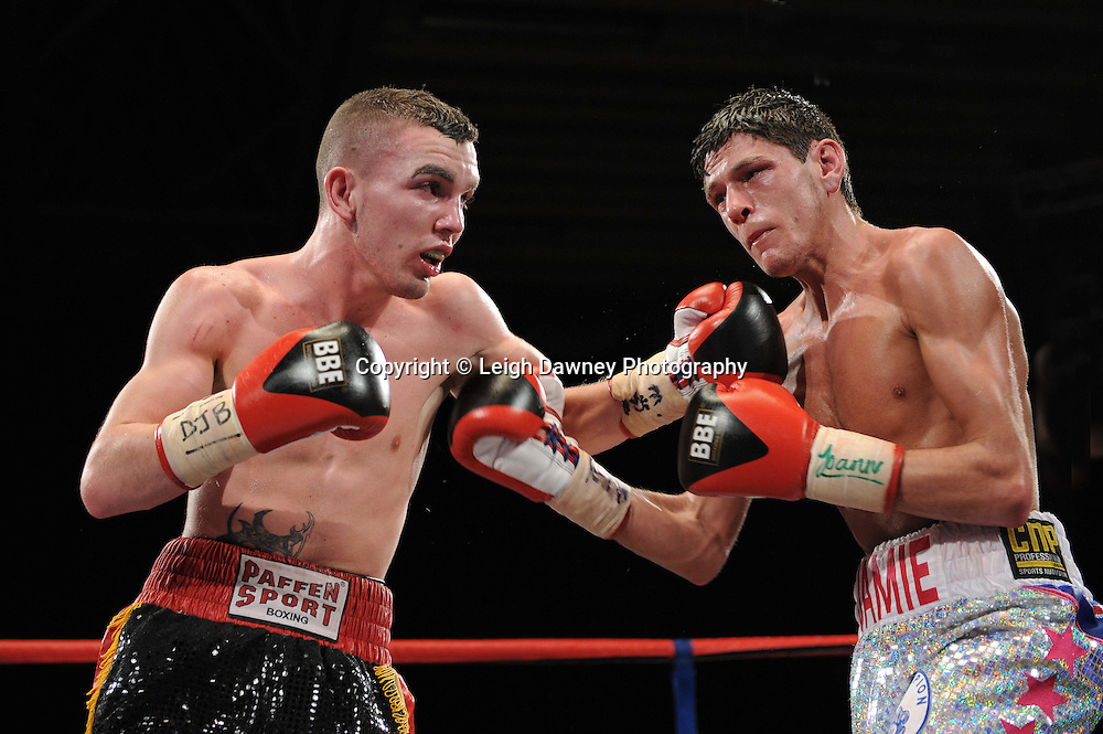 Jamie McDonnell defeats Stephane Jamoye on the 22nd January 2011 at Doncaster Dome, Doncaster - Frank Maloney Promotions. Credit © Leigh Dawney.
