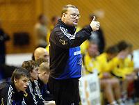 Håndball, 11. desember 2002. Eliteserien, Gildeserien herrer, Kragerø - Stord 25-32. Jesper Svensson, Stord