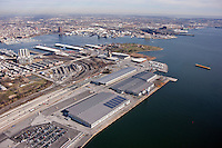 Aerial photography of the Maryland Port Administration Shipping Terminals at the Port of Baltimore by Jeffrey Sauers of Commercial Photographics