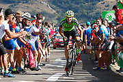 Oscar Rodriguez (ESP, Euskadi Basque Country Murias) during the 73th Edition of the 2018 Tour of Spain, Vuelta Espana 2018, Stage 13 cycling race, Candas Carreno - La Camperona 174,8 km on September 7, 2018 in Spain - Photo Luca Bettini / BettiniPhoto / ProSportsImages / DPPI