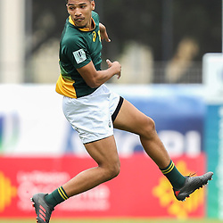 Gianni Lombard of South Africa during the U20 World Championship match between Ireland and South Africa on June 3, 2018 in Narbonne, France. (Photo by Manuel Blondeau/Icon Sport)