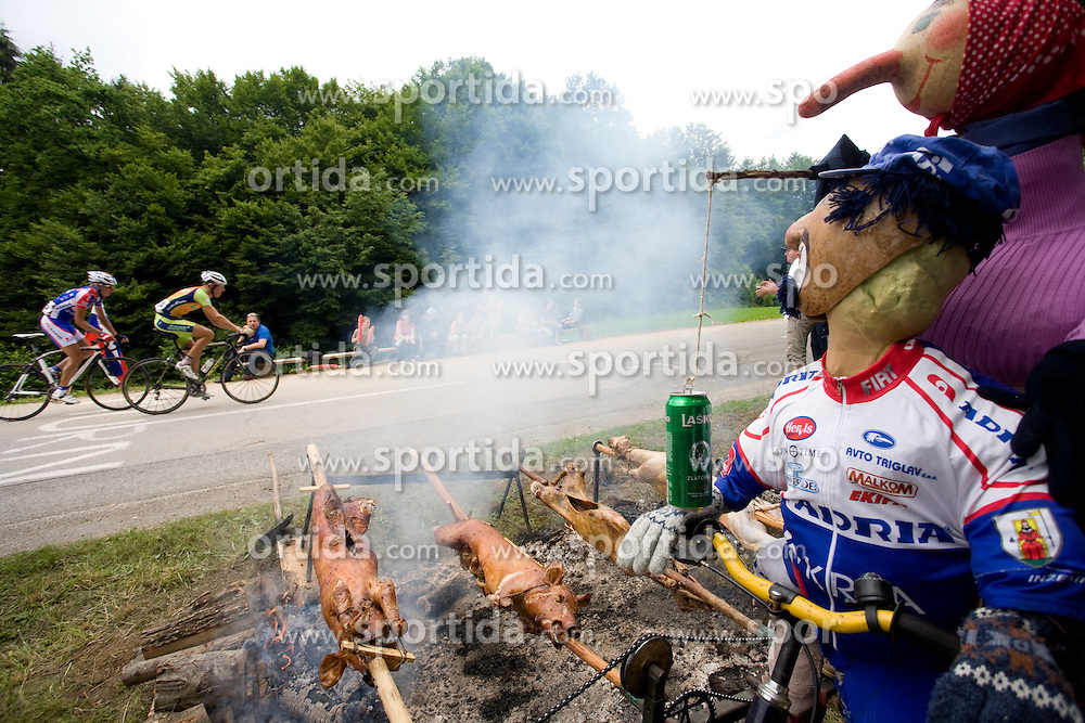 Slovenian National Championships in Road cycling, 178 km, on June 28 2009, in Mirna Pec, Slovenia. (Photo by Vid Ponikvar / Sportida)