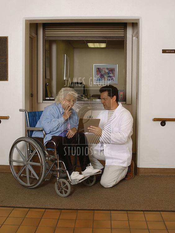 admitting senior to health facility