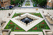 Armenia, Yerevan, Cafesjian Museum of Art and the Cascade