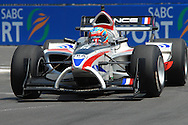 DURBAN, South Africa, Team France's Loic Duval  (3rd 1:18:495 during the third practice session held as part of the A1GP race weekend in Durban, South Africa on Saturday 23 February 2008.  Photo: SportsPics/SPORTZPICS