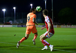 LEYLAND, ENGLAND - Friday, September 1, 2017: Liverpool's Danny Ings during the Lancashire Senior Cup Final match between Fleetwood Town and Liverpool Under-23's at the County Ground. (Pic by Propaganda)