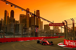 September 15, 2018 - Singapore, Singapore - Motorsports: FIA Formula One World Championship 2018, Grand Prix of Singapore, .#5 Sebastian Vettel (GER, Scuderia Ferrari) (Credit Image: © Hoch Zwei via ZUMA Wire)