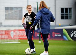 Sophie Baggaley of Bristol City warms up- Mandatory by-line: Nizaam Jones/JMP - 28/04/2019 - FOOTBALL - Stoke Gifford Stadium - Bristol, England - Bristol City Women v West Ham United Women - FA Women's Super League 1