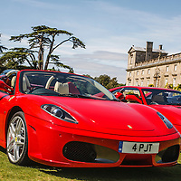 Ferrari F430 Spider (2005) at the Ferrari Club Annual Picnic at Wilton House on 23 August 2009