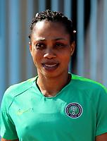 International Women's Friendly Matchs 2019 / <br /> Womens's Cyprus Cup Tournament 2019 - <br /> Nigeria v Thailand 3-0 ( Tasos Marko Stadium - Paralimni,Cyprus ) - <br /> Onome Ebi of Nigeria