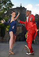 1st TME FREE  USE PICS - STRICTLY NO SALES, SYNDICATION OR ARCHIVE<br /> <br /> Tap-Tastic Melvin Gets Movin&rsquo; with Top Teenage Edinburgh Dancer<br /> Rhythm &amp; Blues legend Movin' Melvin Brown, aged 72, and 17-year-old Edinburgh tap dancer Tamzin Burgess got together to compare moves in the heart of the capital.<br /> Movin' Melvin is not only performing a high-octane Fringe show, Chuck Berry Lives! but will be teaching Edinburgh folk the basics of tap at special classes this Saturday.<br /> Melvin, from the USA, loves to dance with talented local people everywhere he goes on his worldwide tours &ndash; and was mightily impressed with Tamzin who this month won the Leigh Anderson Memorial Trophy and the Edinburgh Tap trophy and was second in the Tap World Cup in Germany in May. <br /> The Dancing With The Star &ndash; Movin&rsquo; With Melvin masterclass, which offers a fun route to health and fitness, will take place at Assembly Checkpoint on Saturday, 19 August at 11am.<br /> And for those who love it and want to carry on with classes there&rsquo;s the Mary Phelan school, where Tamzin trained, which has been in Edinburgh for 40 years. And tap classes are also available at Dance Base, Scotland&rsquo;s National Centre for Dance in Edinburgh&rsquo;s Grassmarket.<br /> <br />  Neil Hanna Photography<br /> www.neilhannaphotography.co.uk<br /> 07702 246823