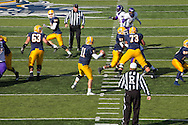 football game on Augustana College campus between Augustana Vikings and Minnesota State Mavericks (Augustana lost big)
