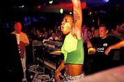 DJ Sonique DJing. 2000