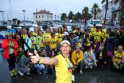 Volunteers at Ironman 70.3 Slovenian Istra 2019, on September 22, 2019 in Koper / Capodistria, Slovenia. Photo by Matic Klansek Velej / Sportida