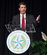 Dr. Andrew Houlihan comments during the opening day of the Houston ISD Summer Leadership Institute at Reliant Center, June 17, 2014.