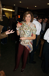 DORIT MOUSSAIEFF wife of the President of Iceland at the opening of The National Cafe and an exclusive private view of the National Gallery's Valazquez Exhibition, at The National Gallery, Trafalgar Square, London on 26th October 2006.<br /><br />NON EXCLUSIVE - WORLD RIGHTS