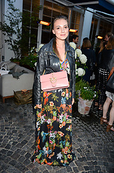 Andreea Cristea at the Aspall Tennis Classic Players Party hosted by Aspall and Taylor Morris Eyewear at Bluebird, 350 King's Road, Chelsea, London England. 28 June 2017.