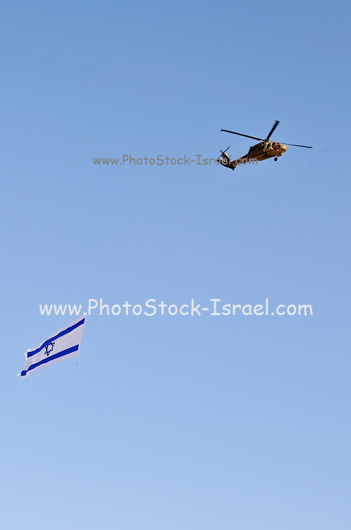 Israel, Hazirim, near Beer Sheva, Flight School graduation Parade