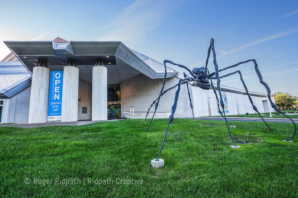 Spider sculptue Kemper Museum of Contemporary Art