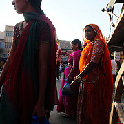 Women at the market in Jodhpur