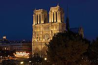 France, Paris (75), la cathédrale Notre-Dame de Paris // France, Paris, Ile de la Cite, Notre Dame Cathedral