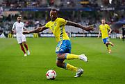 KIELCE, POLEN 2017-06-16<br /> Carlos Strandberg under UEFA U21 matchen mellan Sverige och England p&aring; Arena Kielce den 16 juni, 2017.<br /> Foto: Nils Petter Nilsson/Ombrello<br /> Fri anv&auml;ndning f&ouml;r kunder som k&ouml;pt U21-paketet.<br /> Annars Betalbild.<br /> ***BETALBILD***