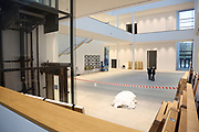Mannheim. 08.11.17 | Zum Neubau Kunsthalle<br /> Innenstadt. Kunsthalle. Pressegespräch zum Neubau der Neuen Kunsthalle. Die Eröffnung der Neuen Kunsthalle im Dezember nur mit Skulpturen - keine Gemälde wegen technischen Verzögerungen.<br /> <br /> <br /> <br /> <br /> BILD- ID 01557 |<br /> Bild: Markus Prosswitz 08NOV17 / masterpress (Bild ist honorarpflichtig - No Model Release!)