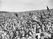 All Ireland Senior Football Final Down v. Offaly 24th September 1961..24.09.1961  24th September 1961E. McKay, G. Lavery, L. Murphy, P. Rice, P. O'Hagan, D. McCartan, J. Smith, J. Carey, J. Lennon, S. O'Neill, J. McCartan, P. Doherty (Captain), A. Hadden, P. J. McIlroy, B. Morgan..Subs: K. O'Neill for P. Rice; Rice for G. Lavery..P. Doherty (Captain).