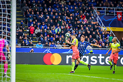 November 6, 2019, Milano, Italy: mario pasalic (atalanta bc)during Tournament round, group C, Atalanta vs Manchester City, Soccer Champions League Men Championship in Milano, Italy, November 06 2019 - LPS/Fabrizio Carabelli (Credit Image: © Fabrizio Carabelli/LPS via ZUMA Wire)