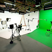 Our Studios: 1) 30x40 w/ 30ft ceilings, full 3/4 Cove & Green Screen. 2) 20x28 w/ 30ft ceiling (shoo