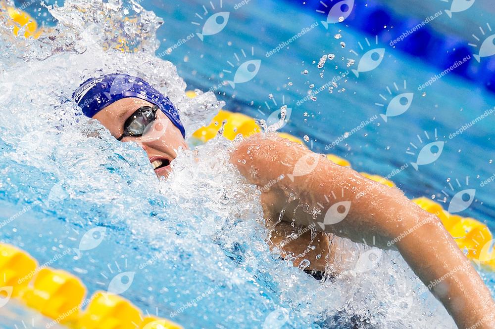 HALSALL Francesca GBR Team GREAT BRITAIN gold medal<br /> London, Queen Elizabeth II Olympic Park Pool <br /> LEN 2016 European Aquatics Elite Championships <br /> Swimming<br /> Mixed 4x100m medley final <br /> Day 09 17-05-2016<br /> Photo Giorgio Perottino/Deepbluemedia/Insidefoto