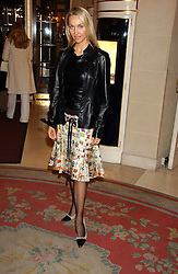 HEATHER TCHENGUIZ at a ladies lunch in aid of the NSPCC held at The Ritz, Piccadilly, London on 7th March 2006.<br />
