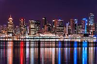Vancouver Skyline @ Night