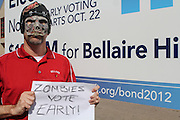 Vote Early Zombie at Bellaire High School
