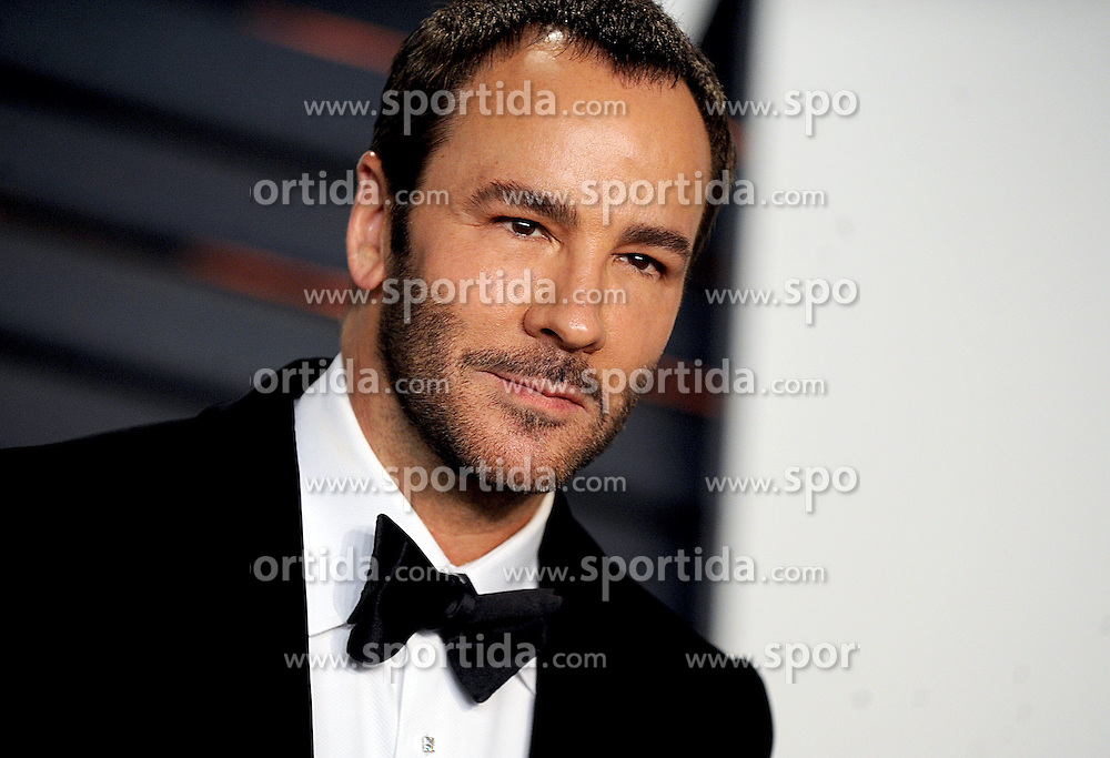 Tom Ford in attendance for 2015 Vanity Fair Oscar Party Hosted By Graydon Carter at Wallis Annenberg Center for the Performing Arts on February 22, 2015 in Beverly Hills, California. EXPA Pictures &copy; 2015, PhotoCredit: EXPA/ Photoshot/ Dennis Van Tine<br /> <br /> *****ATTENTION - for AUT, SLO, CRO, SRB, BIH, MAZ only*****